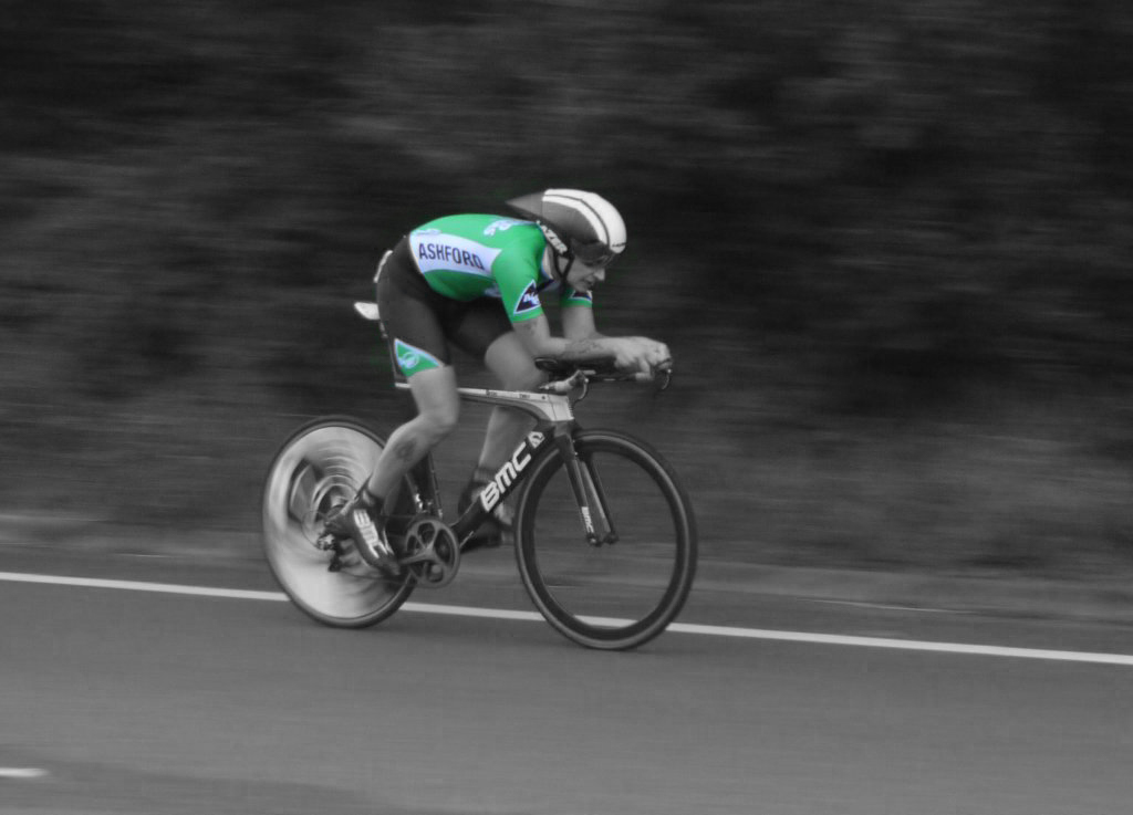 Ashford Wheelers Rider in action